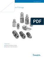 Swagelok High Pressure Fittings
