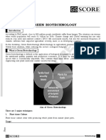 3. Green Biotechnology