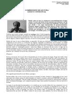 Comprensión de Lectura - Pablo Oyarzún - El Vino (No Terminada)