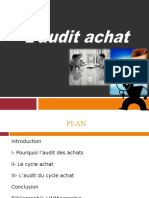 Audit Achat