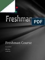 Freshman Book