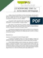 Copia de LA EVALUACION DEL USO Los Inicios de La Pragamatica VIP