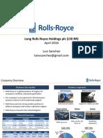 Rolls-Royce (RR) - 4.24.16