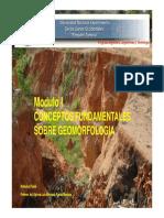 Modulo i Conceptos Fundamentales Sobre Geomorfologia Tema 2 [Modo de Compatibilidad]