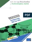 Licence Sciences de La Vie Web 2