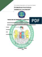 Sociologia Jurídica