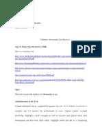midterm -assessment tool reviews 1