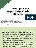 Acción según Jorge Clariá Olmedo