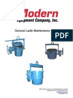 General Ladle Maintenance Manual