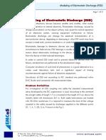EMCoS - Modeling of Electrostatic Discharge (ESD)