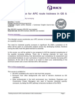 160716 Flyer_Training Course for APC Route Trainees in QS and Construction