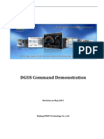 DGUS Command Demonstration