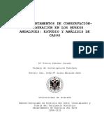 Sanchez Jurado - Departamentos de Conservacion Andaluces
