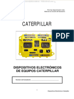 Manual Dispositivos Electronicos Caterpillar Identificacion Componentes Control Monitoreo Diagnostico Analisis Fallas