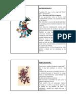 Huitzilopochtli Dioses Aztecas