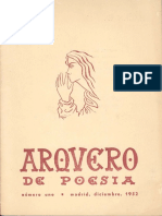 Revista Arquero de Poesía 1