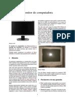 Monitor de Computadora