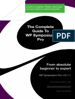 A Complete Guide to WP Symposium Pro