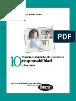 10 Maneras Estupendas de Ensenarles Responsabilidad a Los Ninos