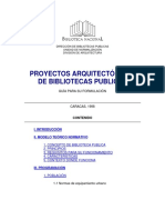 Normativa de Bibliotecas Caracas 1998