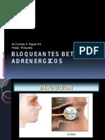 Betabloqueantes y Mioticos Oftalmologia