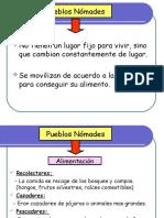 Caracteristicas de Sedentarios y Nomades GUIA