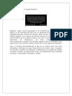 Reseña informativa 3°