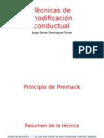 Tecnicas Modificacion de Conducta