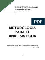 Metodologia Para Analisis FODA