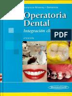 Operatoria Dental Escrito Por Julio Barrancos Mooney Patricio J Barrancos