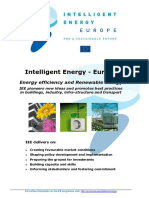 Intelligent Energy Europe at a Glance 2011