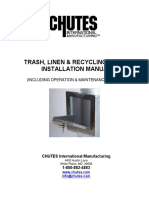 Installation Manual, InternalChutes