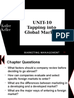 concepts of global/international marketing-latest With Notes