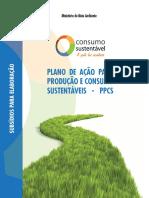 Plano de Ação para Produção e Consumo Sustentáveis - PPCS