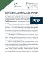 Fitossociologia e Floristica de Um Trecho Da Mata Ciliar Do Rio Miranda, Miranda, MS, Brasil