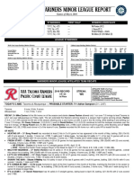 05.07.16 Mariners Minor League Report