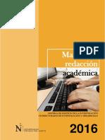 2016 Manual de Redacción
