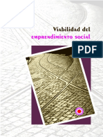 Viabilidad del Emprendimiento Social