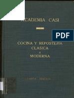 Cocina y Reposteria Clasica y Moderna Academia Casi
