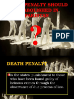Death Penalty in Pakistan