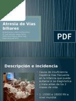 Atresia de Vías Biliares
