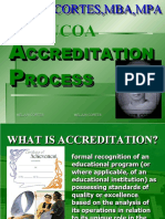 MELJUN CORTES - PACUCOA Consultancy Accreditation