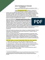 2. Registrar Una Empresa en Venezuela