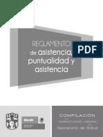 Reglamento de Asistencia, Puntualidad y Asistencia 2010-2013
