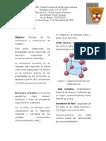Estructuras Cristalinas 1.1