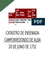 Camp or Redondo