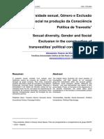 Diversidade Sexual Genero E Exclusao Social Na Producao