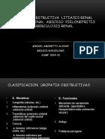 Clase 2. Uropatía Obstructiva