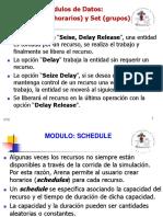 Schedule y Set