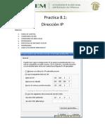 Practica8.1(Direccion Ip)